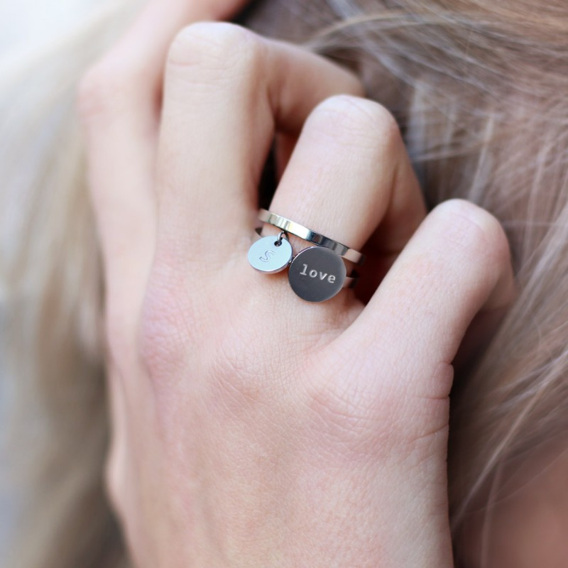 Love life ring silver  €17,95