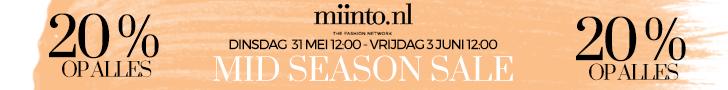 Miinto.nl - 20% korting