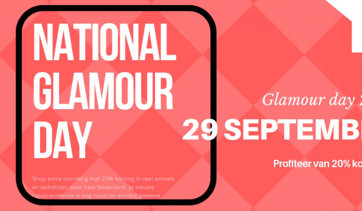22b0387139e Alle kortingscodes van Glamour Day 2018 vind je hier! Tijdens de nationale  ...